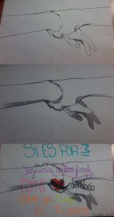 En el segundo caso creo que arruiné el dibujo y en el último la termine de cagar -w-