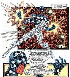 derekwc presents: History of Comics On Film: My Top Ten Favorite Spider-Man Stories Marvel Comic Character, Marvel Characters, Marvel Heroes, Marvel Comics, Cosmic Spider Man, Captain Universe, Spiderman, Man Thing Marvel, Spider Verse