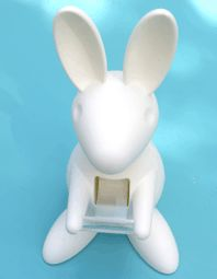 Love Letter Stationery: Bunny Tape Dispenser