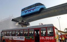 Mumbai on the move, with Metro, monorail ready to roll