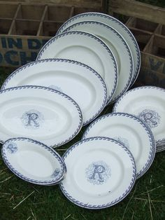 Gorgeous antique French china