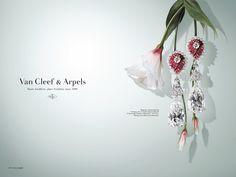 Van Cleef & Arpels Jewelry Advertising