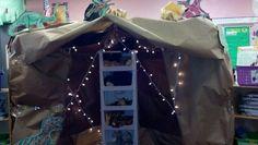 My new Dinosaur Cave for my classroom