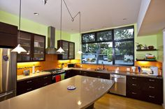 Fantastic kitchen! I want this whole house!