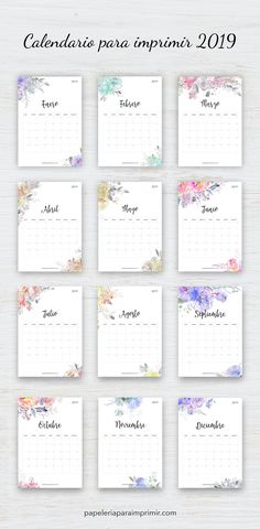 Most recent Cost-Free monthly calendar 2019 printable Suggestions From work deadlines to family happenings and random reminders, Calendar is what keeps me on track, p Agenda Planner, Monthly Planner, Printable Planner, Happy Planner, Planner Stickers, Free Printables, Diy Kalender, Calendar Design, Bullet Journal Inspiration