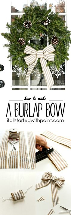 How To Make A Bow -