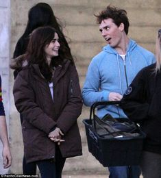love rosie lily collins | Lily Collins laughs and lies in the grass with onscreen beau Sam ...