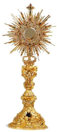 Objetos litúrgicos: Ostensorio