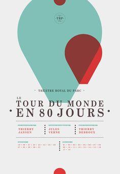 le tour du Monde en 80 jours - Affiches - c-dilles (France)