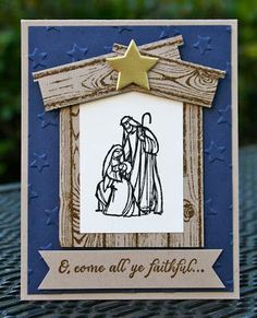 Stampin' Up! All Ye Faithful Night | Krystal's Cards and More | Bloglovin'