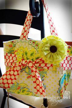 PILLOWCASE TOTE BAGS | Call Me Crafty Momma: Cute purse tutorial