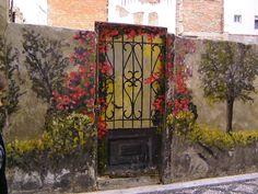 Street Art in Jaén, Andalucia, Spain