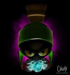 marvin the martian | illustration and concepts for...: Marvin the martian