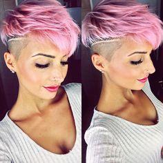 New Haircut ✂️ #haircut #hairstyle #haircolor #shorthair #pixie #pixies #pixiecut #pixiehair #pinkhair #pinklove #undercut #sidecut #beauty #beautiful #love #amazing #fashion #fashionista #fashionblogger #photo #photooftheday #selfie #stuttgart #0711