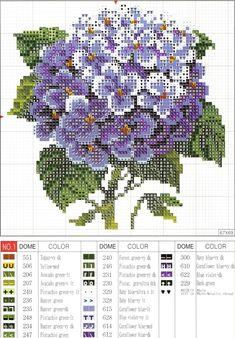 Hortensia violeta  <3