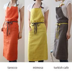 Sewing Clothes For Men Apron colors . Easy Sewing Projects, Sewing Hacks, Sewing Tutorials, Sewing Men, Love Sewing, Sewing Aprons, Sewing Clothes, Men Clothes, Sewing Basics