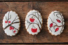 Winter painted cookies | Flickr - Photo Sharing!