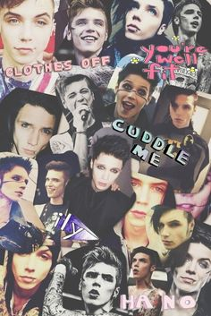 andy biersack collage - Google Search