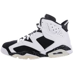 057036276a836b Pre-owned Nike Air Jordan 6 Retro Oreo Sneakers ( 295) ❤ liked on