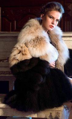 Fur Fashion, Lynx, Furs, Fur Coat, Sexy Women, Jackets, Fur, Dressing Up, Down Jackets