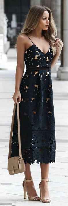 Black laces dress