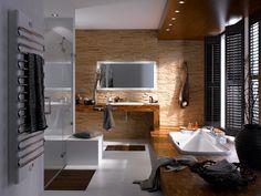 Klimex Stonewood Ledge in bathroom application.