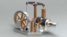 Desk top Stirling engine