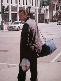 In preparation for his role as The Joker, Heath Ledger hid away in a motel room for about six weeks. During this extended stay of seclusion, Ledger delved deep into the psychology of the character. He devoted himself to developing The Joker's every tic, namely the voice and that sadistic-sounding laugh.  The Dark Knight (2008) | Heath Ledger was amazing. <3