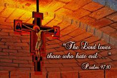 Hating evil