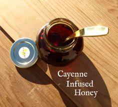 Cayena infusión de miel por Pixiespocket.com
