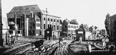 Magdalen Hospital for Penitent Prostitutes (Image is of Magdalen Hospital c. 1812)