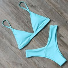 Ruuhee Brazilian Bikini Swimwear Women Swimsuit 2019 Micro Bikini Set Push Up Bathing Suit Beach Wear Maillot De Bain Femme Push Up Bikini, Brasilianischer Bikini, Sexy Bikini, Strap Bikini, Bikini Beach, Bikini Girls, Cute Swimsuits, Women Swimsuits, Calvin Klein Bikini Set