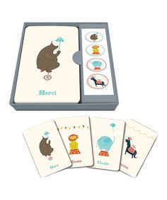 Look what I found on #zulily! Jubilee Thank-You Note & Sticker Set by Studio Oh! #zulilyfinds