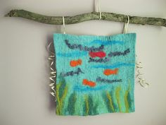 Wet Wool Felting Fun with Kids (eco-friendly craft activity) - Non-toxic Kids