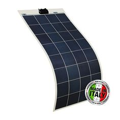 130W high efficiency flexible solar PV panel with adhesive for a motorhome, caravan, camper van, rv, boat, yacht or any off-grid solar power system - 100% designed and made in Italy Photonic Universe http://www.amazon.co.uk/dp/B00F6WNOPA/ref=cm_sw_r_pi_dp_rrK1vb13ZWVMA