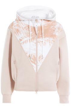 ADIDAS BY STELLA MCCARTNEY Hoodie Mit Print. #adidasbystellamccartney #cloth #hoodies