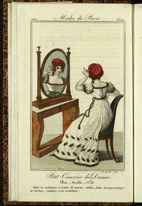 Petit Courrier des Dames : annonces des modes, des nouveautés et des arts del 10 de Enero de 1822