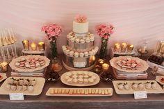 dessert tables for weddings   Sweet Table Chicago: Designer Dessert Tables » Mercury Glass Wedding ...