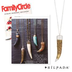 Not to toot our own horn, but the editors at @familycirclemag loved our Adventure Seeker Necklace so much, they featured it in their July issue!