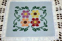 Items similar to Blue Flower doily on Etsy Doilies, Blue Flowers, Cross Stitch, Etsy, Beautiful, Monogram Alphabet, Drop Cloths, Cross Stitch Embroidery, Ideas