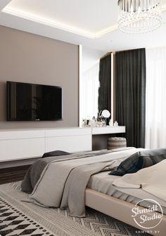 Best home studio design closet ideas Home Room Design, Master Bedroom Design, Bedroom Closet Design, Home Interior Design, Living Room Designs, Bedroom Tv Wall, Home Bedroom, Modern Bedroom, Bedroom Decor