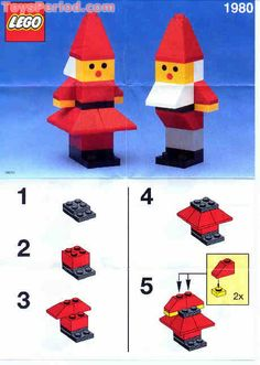 LEGO 1980 Santa's Elves Set Parts Inventory and Instructions - LEGO ...