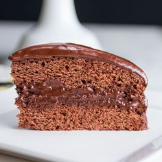 Vegan Chocolate Cake by Tasty