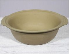 The Pampered Chef Stoneware Baking Bowl - The Family Heritage® Stoneware, Classics Collection of unglazed pieces guarantees great baking success! Stoneware duplicates the effects of brick-lined ovens used in professional bakeries and restaur... - Bakers - Kitchen