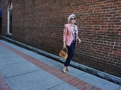 """One of my very first """"grown up"""" clothing purchases was a black pencil skirt and a blush color silk blouse. I was barely eighteen years old and had been in the workforce for only a few months when I re"""