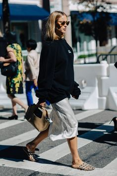 The Coolest Sweater-and-Skirt Combos to Try Right Now