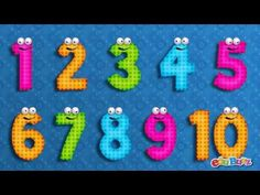 10 Little Numbers song for Children | Numbers song - YouTube