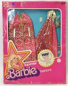 1976 Barbie - Brocade Shine For TV   Time (SuperStar ⭐️ Fashions) #9835