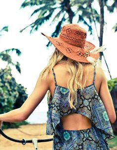 MAJESTIC TOP     ELIZABETH TOP     ABODE TUBE TOP  SHOP THIS LOOK  Click on the image below to see the product…     LIVIE DRESS     SUNRISE HAT