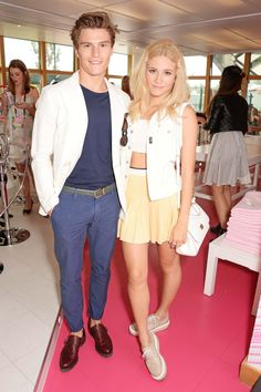Pin for Later  See All the Courtside Celebrity Style at Wimbledon Oliver  Cheshire and Pixie b3ce7838a245